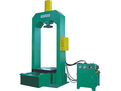 弯曲,剪切,拉伸和各种小型零部件的压装,装配; 相关标签:单柱液压机图片