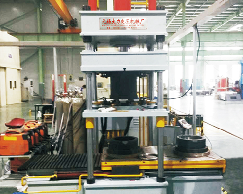 双工位电机定予氩弧焊液压机