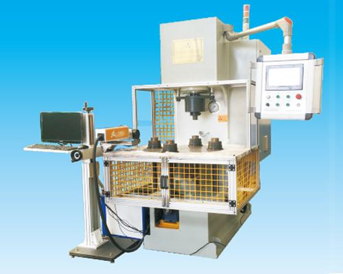 YSF-25T伺服转盘液压机(激光打标)